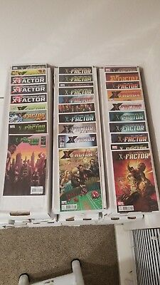 X-Factor 3rd Series #200-262 Complete Set Condition VF-NM (Marvel)