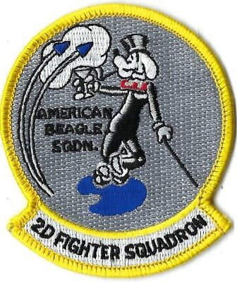 USAF 2nd FIGHTER SQUADRON PATCH