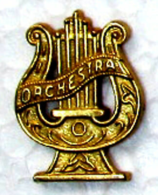 MUSIC Orchestra Chenille-Sports-Lapel-Jacket-Award Pins School-Band FastShip