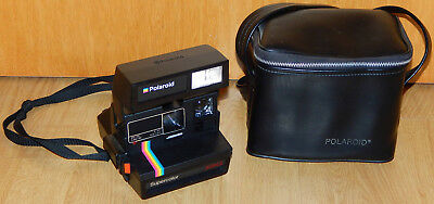 Original Polaroid 635 Kamera Sofortbildkamera Supercolor 635CL 600 Land Camera