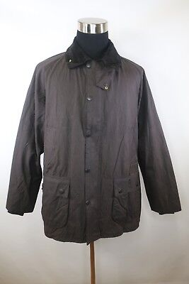 C8198 VTG Men's BARBOUR BEDALE Snap-Button Oil Waxed Jacket Size C48/122CM