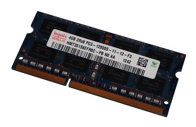 4GB SK HYNIX PC3-12800S DDR3-1600MHz 1.5V 2Rx8 SODIMM LAPTOP NOTEBOOK MEMORY RAM