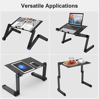 Laptop Stand Desk Lap Bed Sofa Table Tray Computer Portable Folding Adjustable
