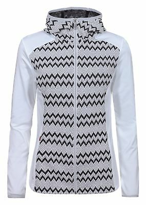 Luhta Damen Midlayer-/ Fleecejacke AULI 39237-358 010 natural white