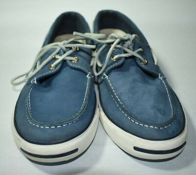Converse Men s Jack Purcell Deck Blue Size 10 Men s Boat Shoe Sneakers d00550468