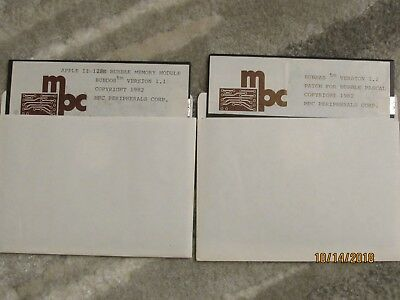 Scarce - MPC Bubble Memory Software - Apple II - Tested Working
