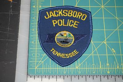 Jacksboro Tennessee Police Department Patch (588)