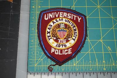 Texas A&m University Police Department Patch (585)