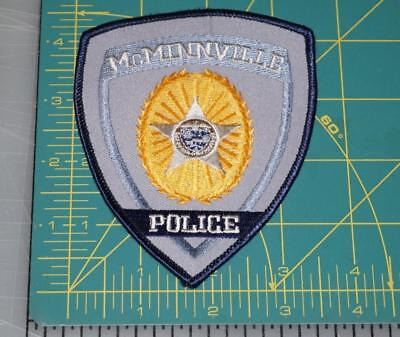 Mcminnville  Tennessee Police Department Patch (551)