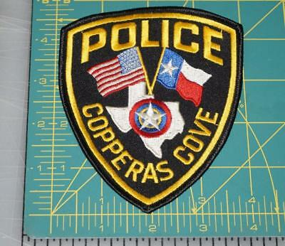 Copperas Cove Texas Police Department Patch (550)