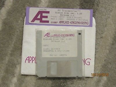 Applied Engineering PC Transporter System Disks - Vintage Apple II
