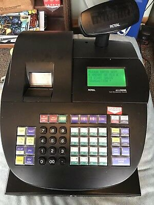 Royal Alpha 1000ML Heavy Duty Cash Register - LCD Display Electronic Journal