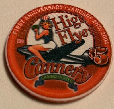 Cannery $5 Casino Chip Las Vegas Nevada 2.99 Shipping