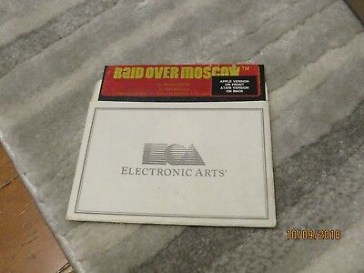 Raid Over Moscow - Electronic Arts - Vintage Apple II Software