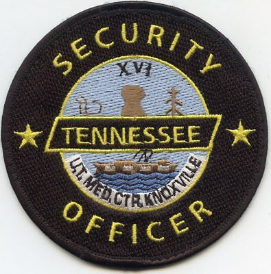 UNIVERSITY OF TENNESSEE TN MEDICAL CENTER KNOXVILLE SECURITY police PATCH