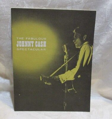 JOHNNY CASH SPECTACULAR Program/Booklet 1964 Hank Jr. TEX RITTER June Carter
