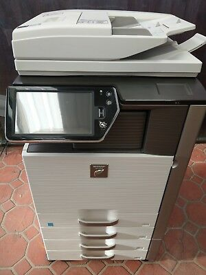 SHARP MX-4111N Colour Multifunction with Copy Scan Print Very Good Condition