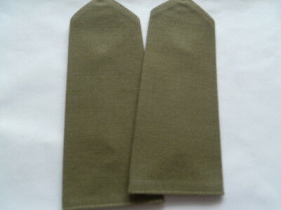 australia ARMY jungle green epaulettes   soft as new cond pair