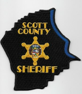 Scott County Sheriff State of MISSOURI MO Shoulder Patch