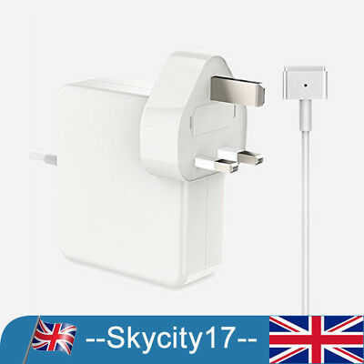 45W Power Adapter Charger For Apple MacBook Air Magsafe2 T-Tip 11&13 A1436 UK