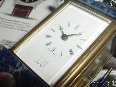 Vintage HERMES Carriage style DESK Clock [stands 3 inches] FPOR