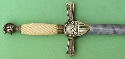 S. Justice Pattern Pre Civil War NCO Sword