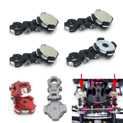Magnetic Stealth Invisible Body Post Mount for 1:10 RC SCX10 D90 Sakura D3 D4