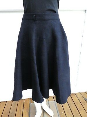 Wool Felt 1950's Circle Skirt for Craft / Pattern / Cutting XS AU8