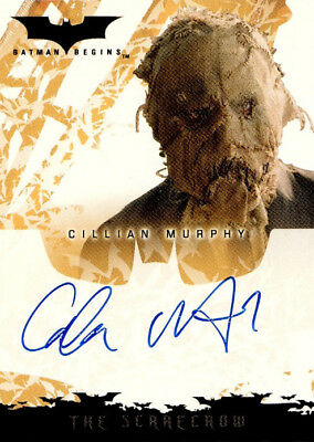 Batman Begins Autograph Card - Cillian Murphy - The Scarecrow