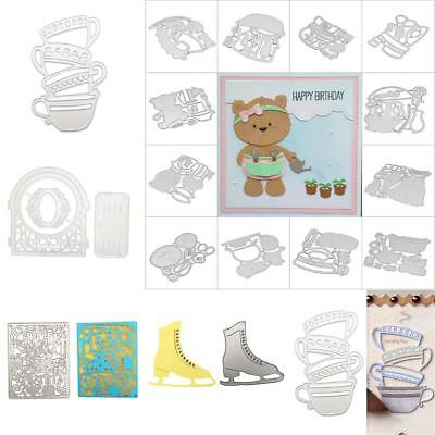 Various Style Metal Cutting Dies Stencil for Scrapbooking Card Embossing Craft