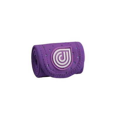 """Dr. Cool 4X50"""" Sport Ice + Compression Wrap Purple """"wet Or Freeze"""" Knee Elbow"""
