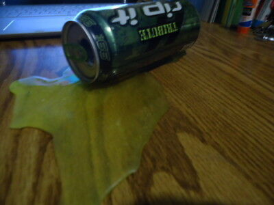 Fake Spilled Can Of Rip It Energy Drink