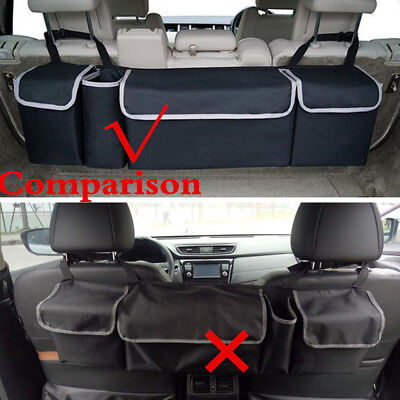 High Capacity Oxford Car Seat Back Organizers Multi-use Fit Interior Accessories