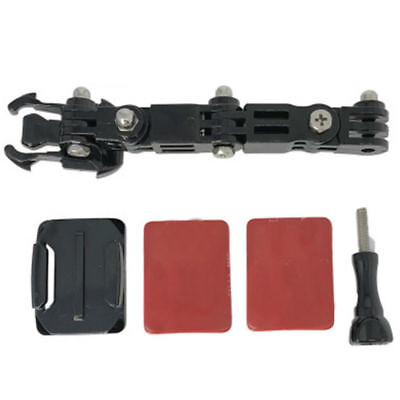 For GoPro Hero 6 5 4 XiaoYi Camera Motorcycle Helmet Front Chin Mount Holder #NP