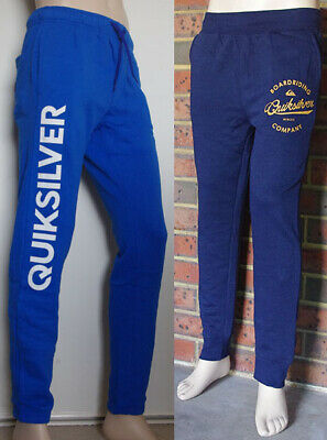 Quiksilver Men's Fleece Track Pants Trackies Trackpants sz S M L XL NWOT