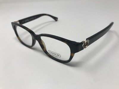 c778485e08bc COACH HC 6038 5001 AMARA AUTHENTIC FRAME RX EYEGLASSES 51-14-135mm HA17