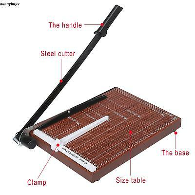 Pro A3-B7 Heavy Duty Guillotine Paper Cutter-12 sheet Commercial photo Trimmer