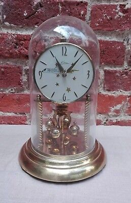 Vintage Kern 400 Day Torsion Anniversary Clock