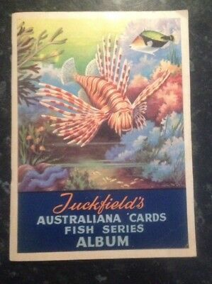 Tuckfields Fish Series Full Album Of 32 Cards