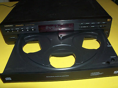 Kodak Photo-CD Player PCD5860,Top Zustand. 5 fach Wechsler.