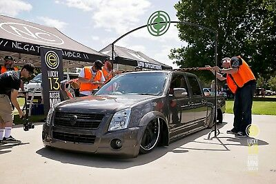 Highly Modified Bagged and Bodied Elite Level 2004 Holden Rodeo - Mini Truck