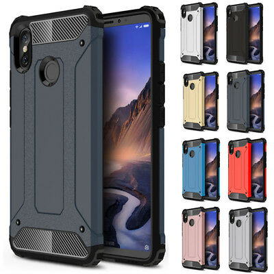 For Xiaomi Mi Max 3 Hybrid Rugged Shockproof Armor Protective Phone Cover Case