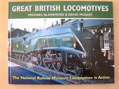 """great British Locomotives."" Railways. Trains Book."