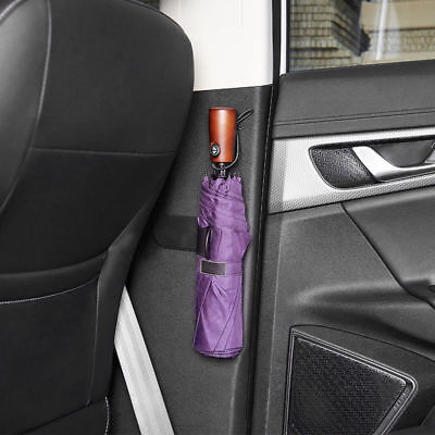 Auto Car Back Seat Umbrella Holder Sheath Storage Organiser Bag Adhesive Hanger