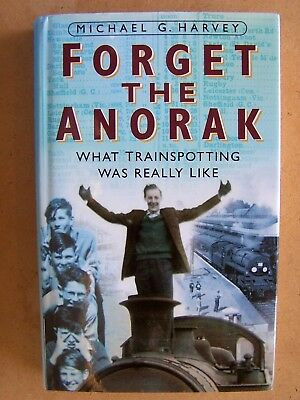 """forget The Anorak."" British Railways Locomotives Book."