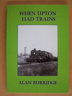 """WHEN UPTON HAD TRAINS."" British Book."