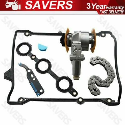 Left Camshaft Timing Chain Tensioner Kit Valve Gasket For Audi A4 A6 VW Passat