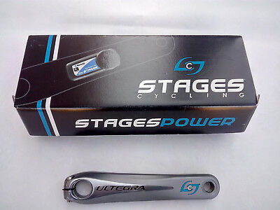 Stages Cycling Power Ultegra 6700 Powermeter 172,5 GEN 2, Bluetooth/ ANT+