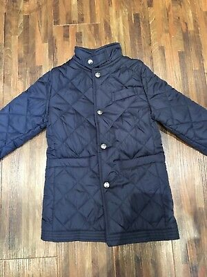 Boys Navy Padded Jacket by Jasper Conran - new without tags - age 4-5 years