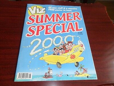 Viz comic - Summer Special No6 - June 2000 - Good condition with poster - Over 1